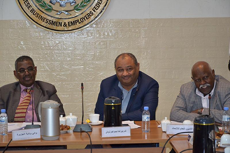 اجتماع اللجنة العليا لمشاركة القطاع الخاص فى مهرجان السياحة ببورتسودان