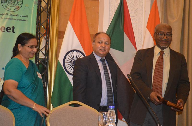 القاءات الثنائية السودانية الهندية