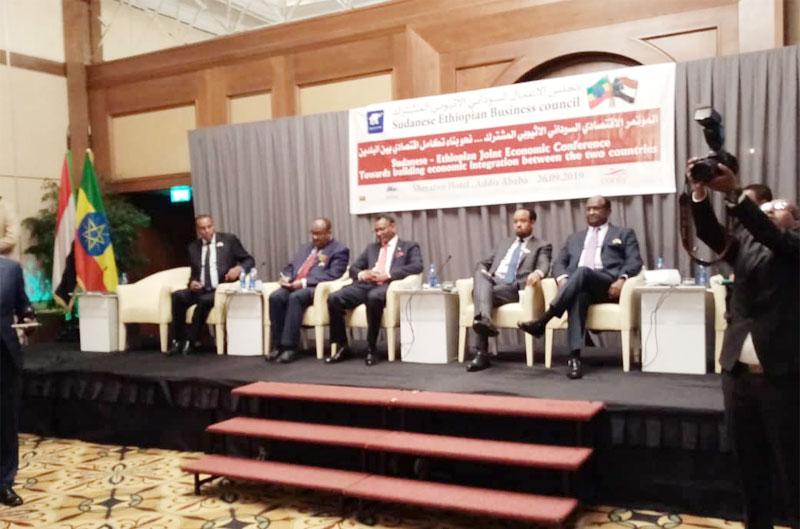 إتفاق سوداني إثيوبي على زيادة التبادل التجاري