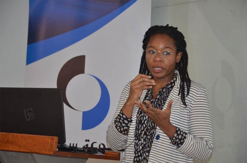 الاستاذة نيروكي شيملو المديرة الاقليمية لشبكة شبكة الاتفاق العالمي