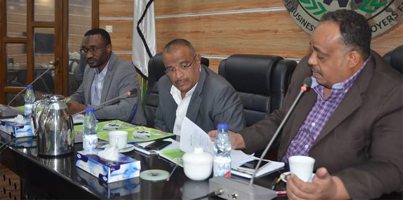 مجلس التسيير باتحاد عام اصحاب العمل السوداني
